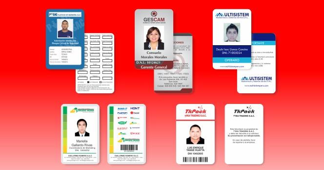 modelo de fotocheck personalizado para empresas