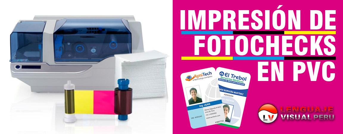 fotocheck-pvc